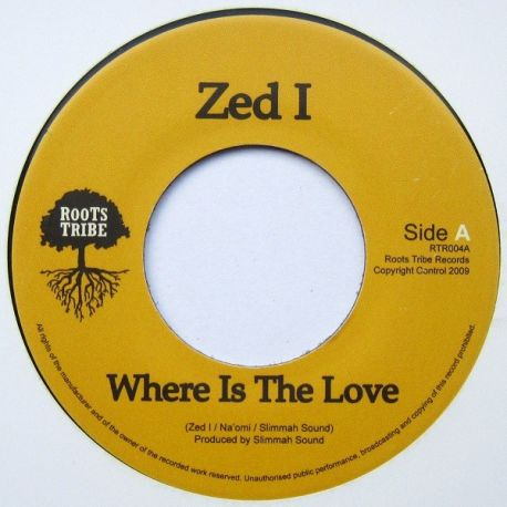 Zed I - Where Is The Love - 7""