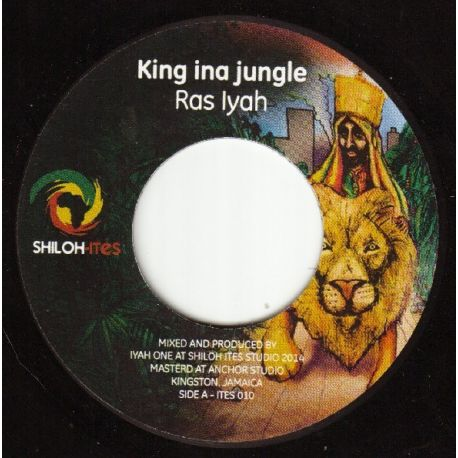Ras Iyah - King Ina Jungle - 7""