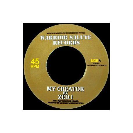 """Zed I /  Christine Miller - My Creator - 7"""""""